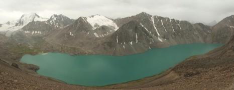 Lazur jeziora Ala-Kol
