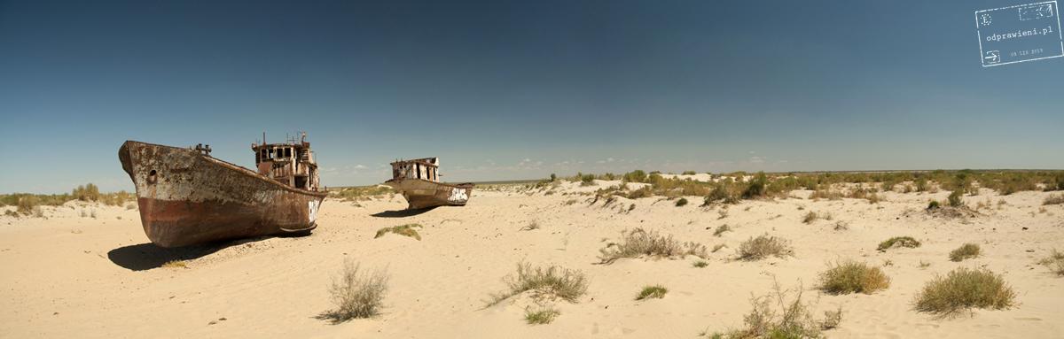 Jezioro aralskie trasa